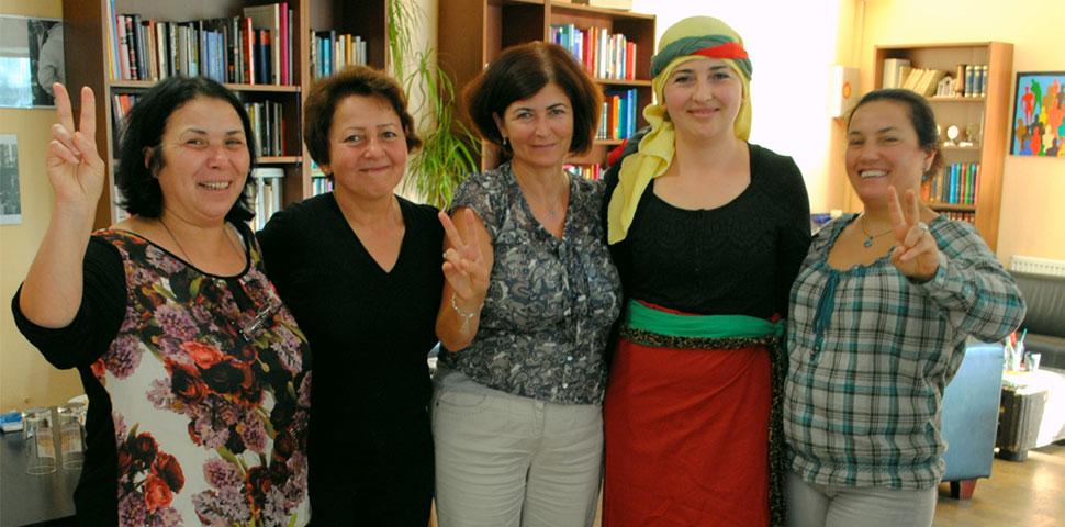 Göçmen kadınlar çalışma gruplarını oluşturdu