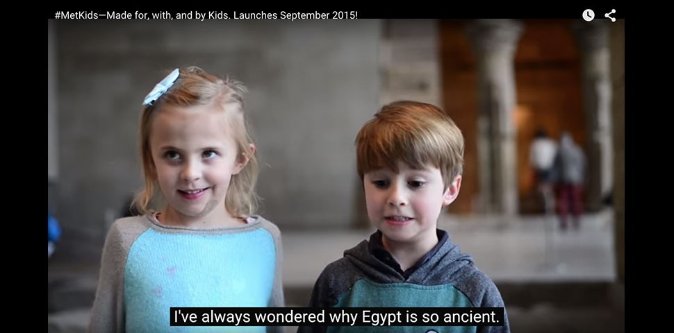 #MetKids and a new youtube channel