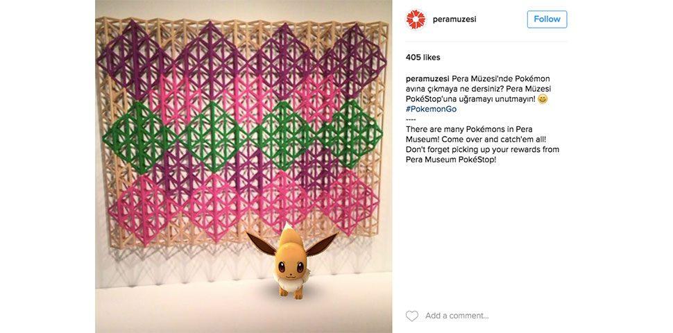 Türkiye'nin ilk müzeci Pokemon'u Pera Müzesi'nde görüldü